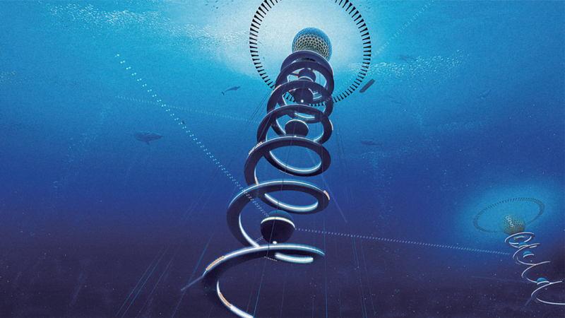 Underwater City From Below