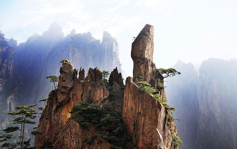 Peak of Mount Huangshan