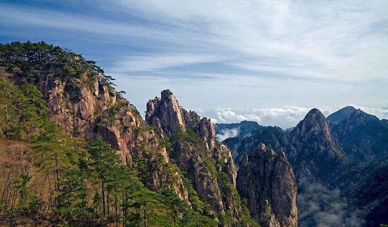 Mount Huangshan in China