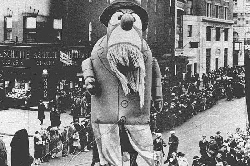 Captain Nemo in Macy's Parade