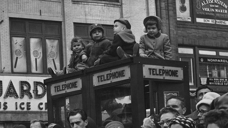 Children in New York City 1961