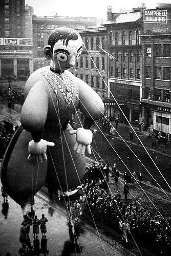 Eddie Cantor Vintage Thanksgiving Float