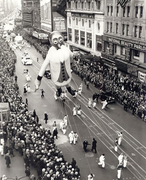 Father Knickerbocker Parade Balloon