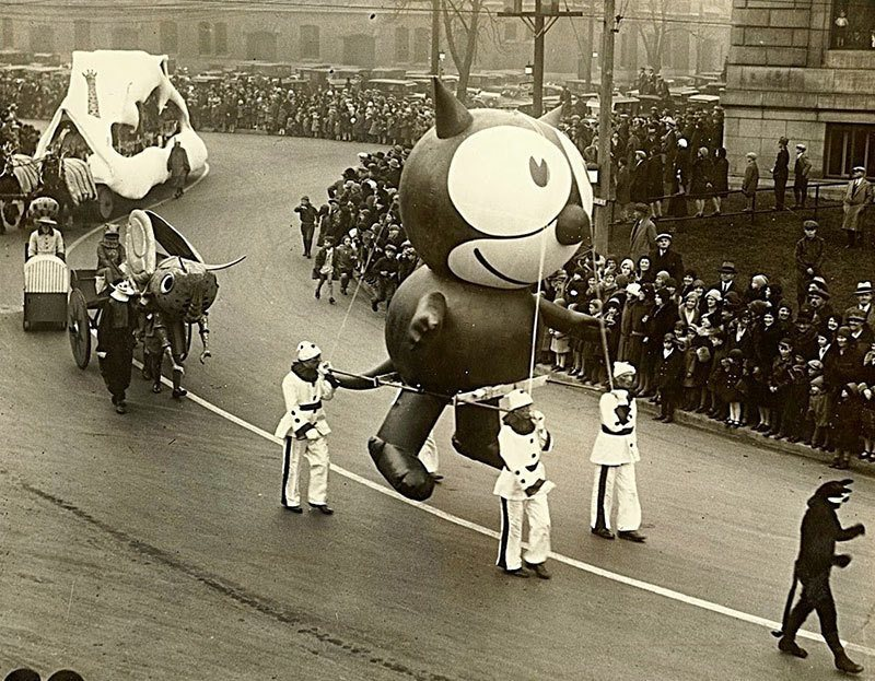 Felix the Cat Vintage Macy's Parade