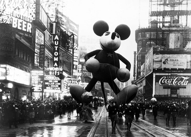 Micky Mouse Vintage Macy's Thanksgiving Day Parade