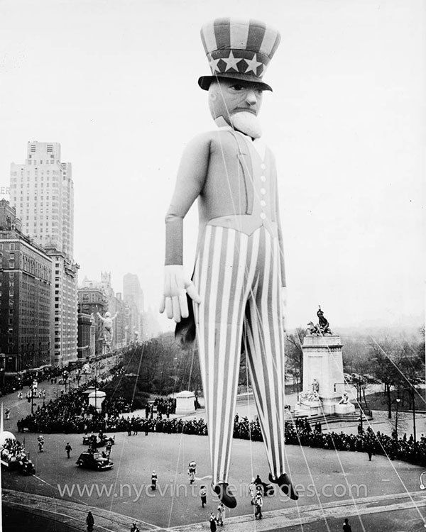 Macy's Thanksgiving Day Parade Uncle Sam Balloon