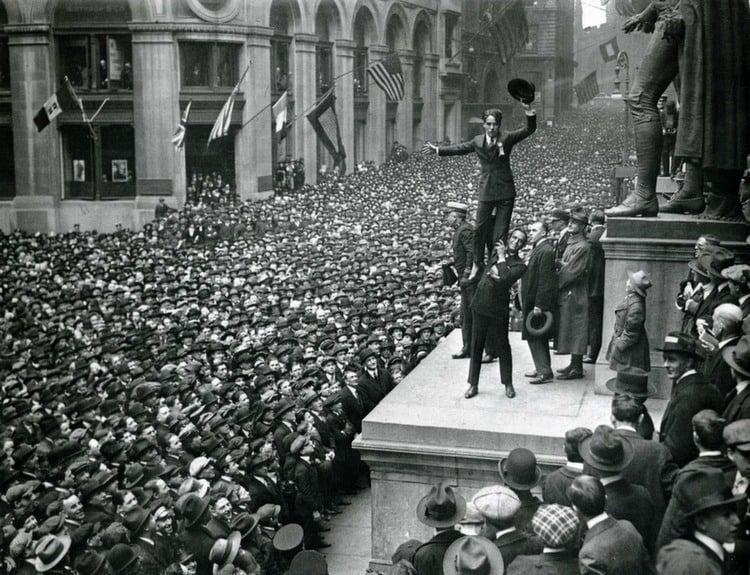 Wall Street Chaplin