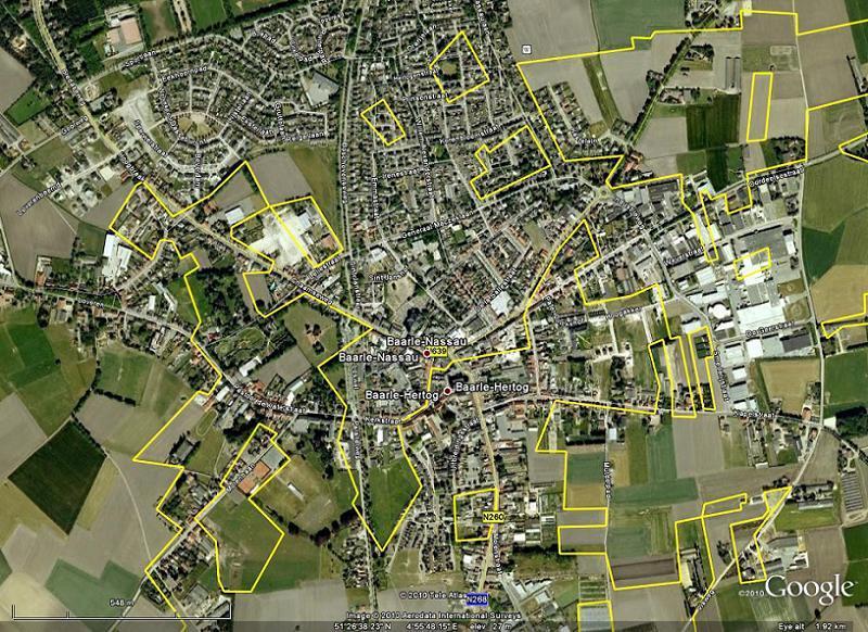 Dumb Borders Baarle Aerial