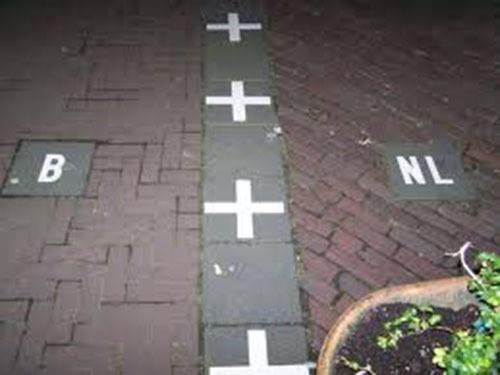 Dumb Borders Baarle Border