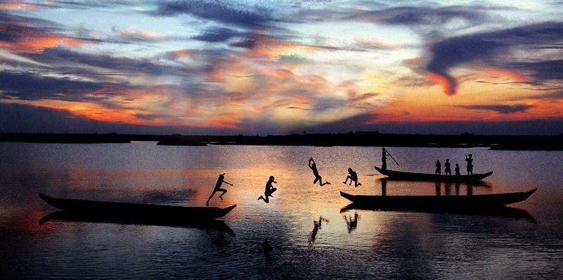 Dumb Borders Bangladesh River