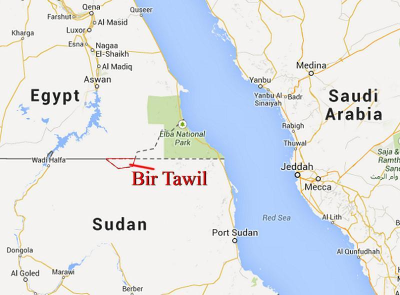 Dumb Borders Tawil Map