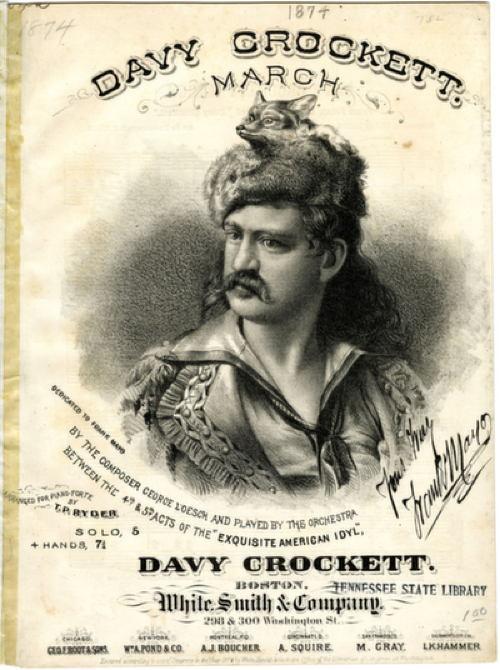 Wild West Figures Crockett