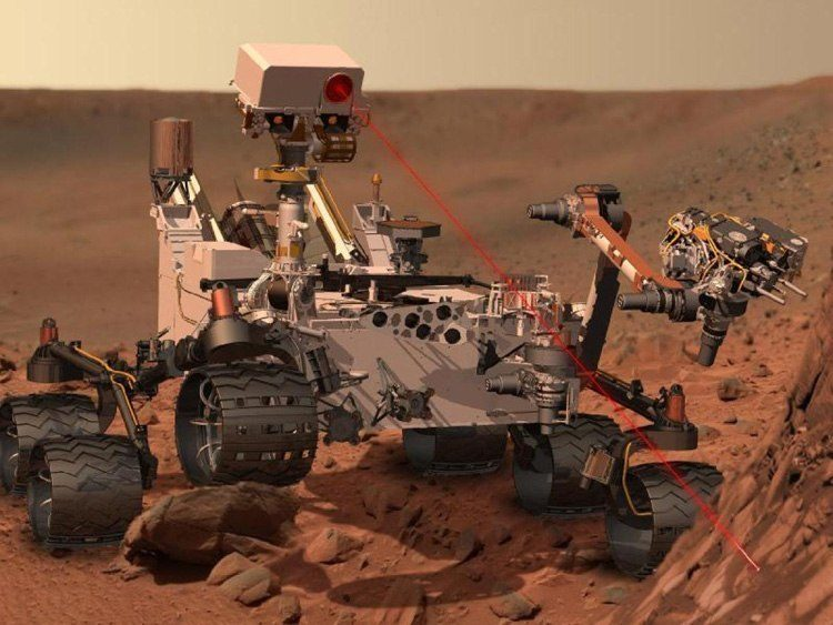 2014 Discoveries Mars Rover Methane
