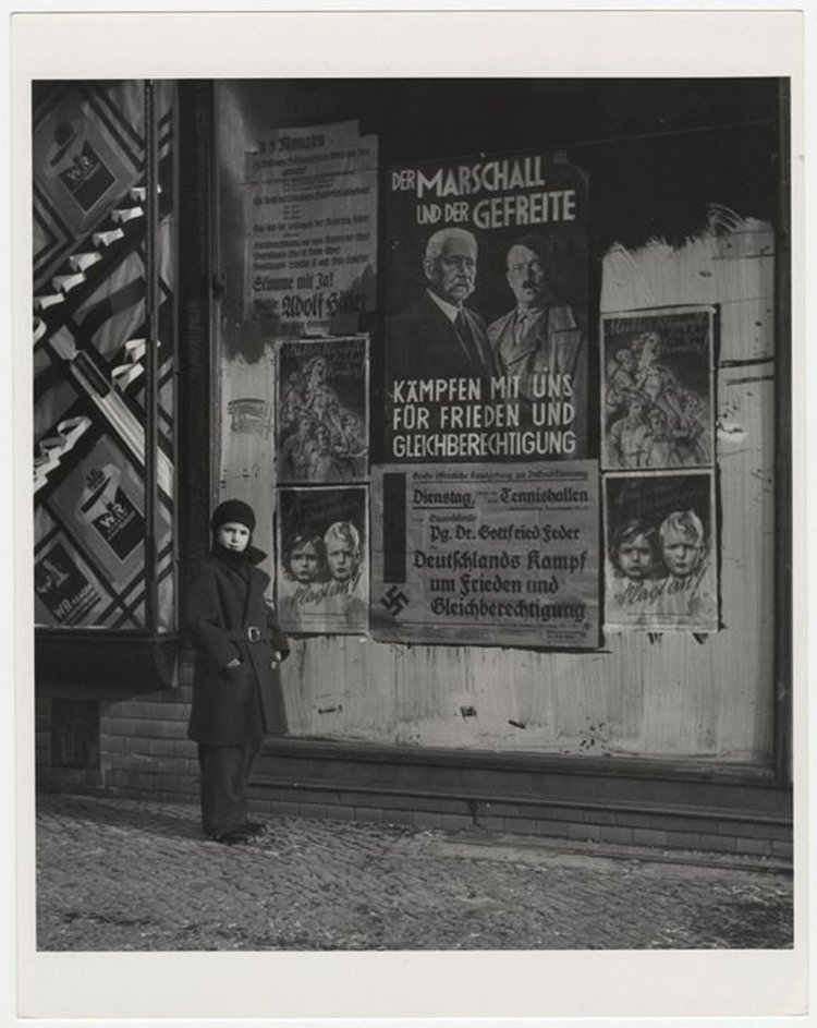 German Election Posters In 1933