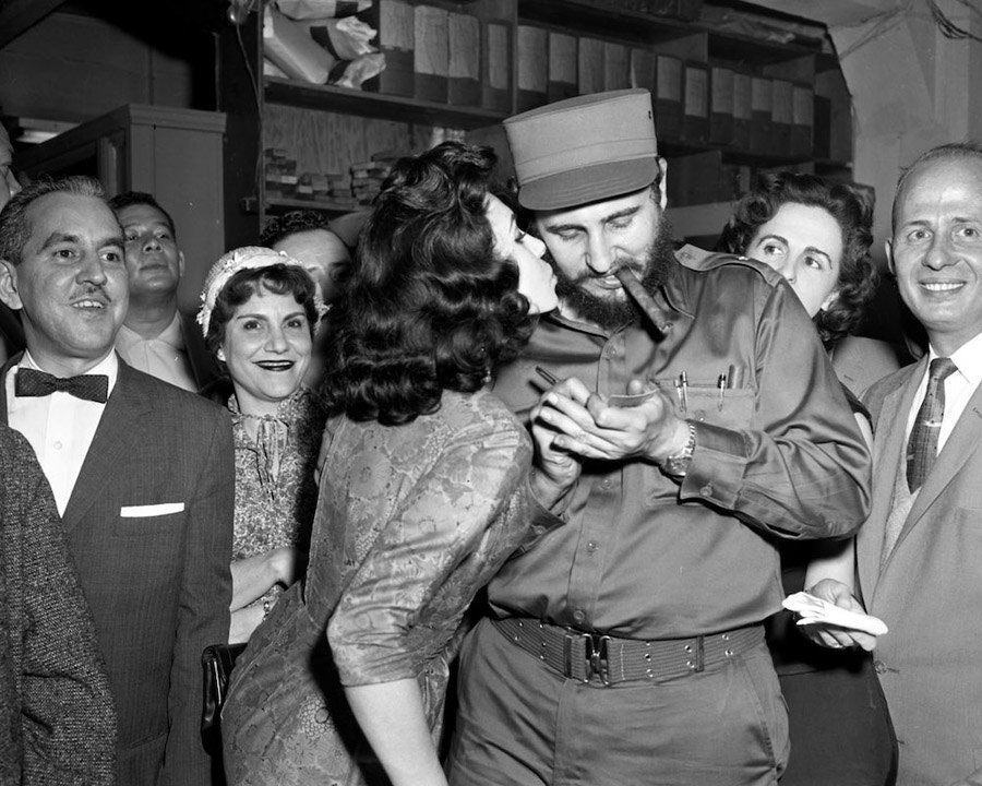 Fidel Castro Photos From 1959 Visit To New York