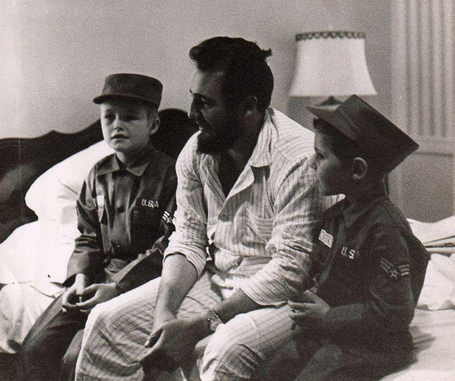 Fidel Castro In Pajamas