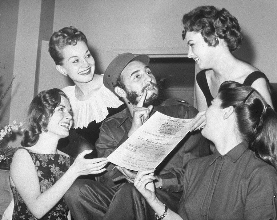 Fidel Castro Invitation