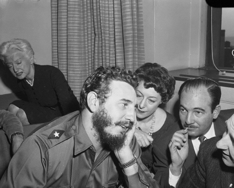Fidel Castro Audience