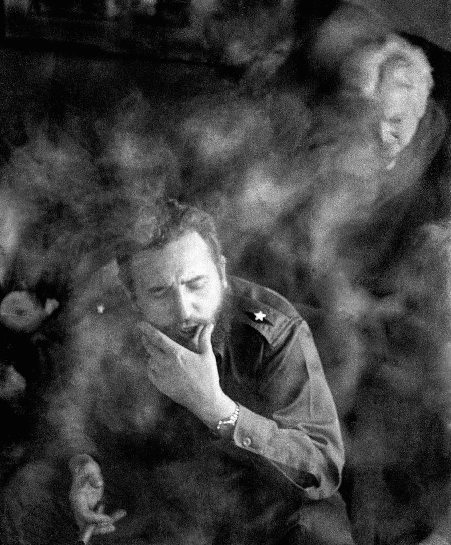 Fidel Castro At The Hotel New Yorker