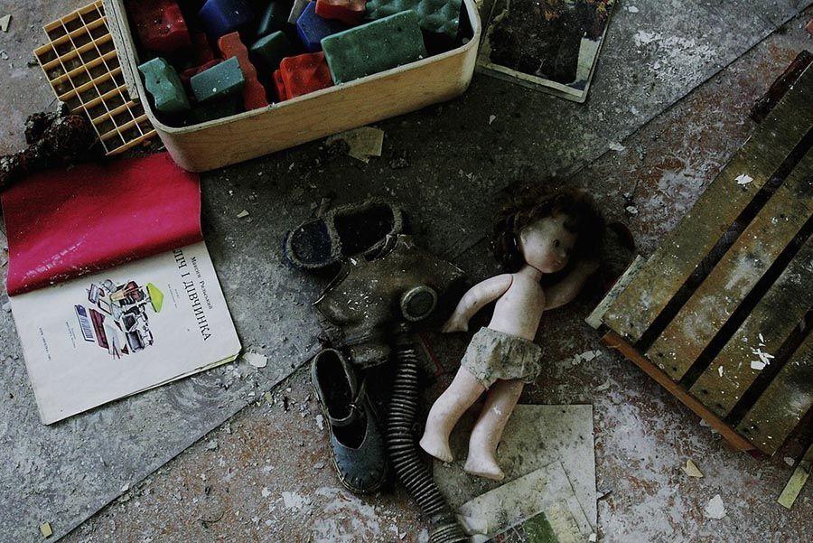 Abandoned Chernobyl Doll