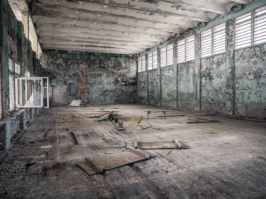 Abandoned Chernobyl Empty Room