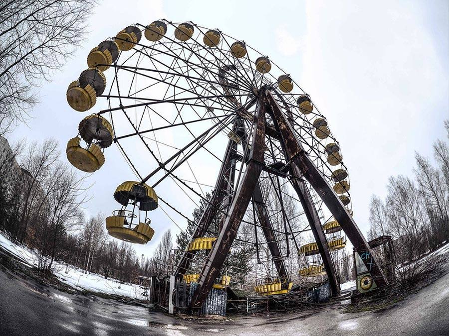 Abandoned Chernobyl Ferris Wheel