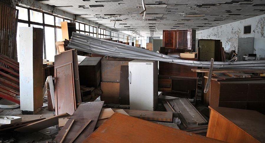 Abandoned Chernobyl Furniture
