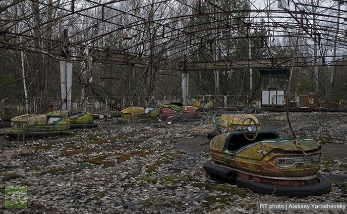 Go Carts In Chernobyl Today