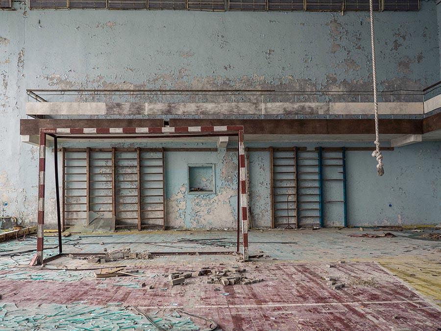 Abandoned Chernobyl Gym