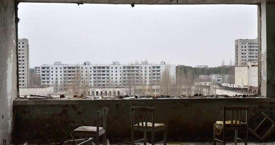 Chernobyl Today: Photos And Footage Of A Nuclear City Frozen