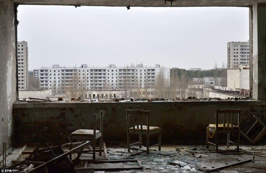 Abandoned Chernobyl Hotel