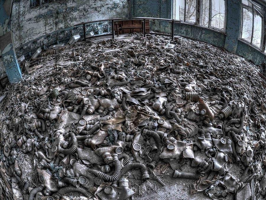Abandoned Chernobyl Masks