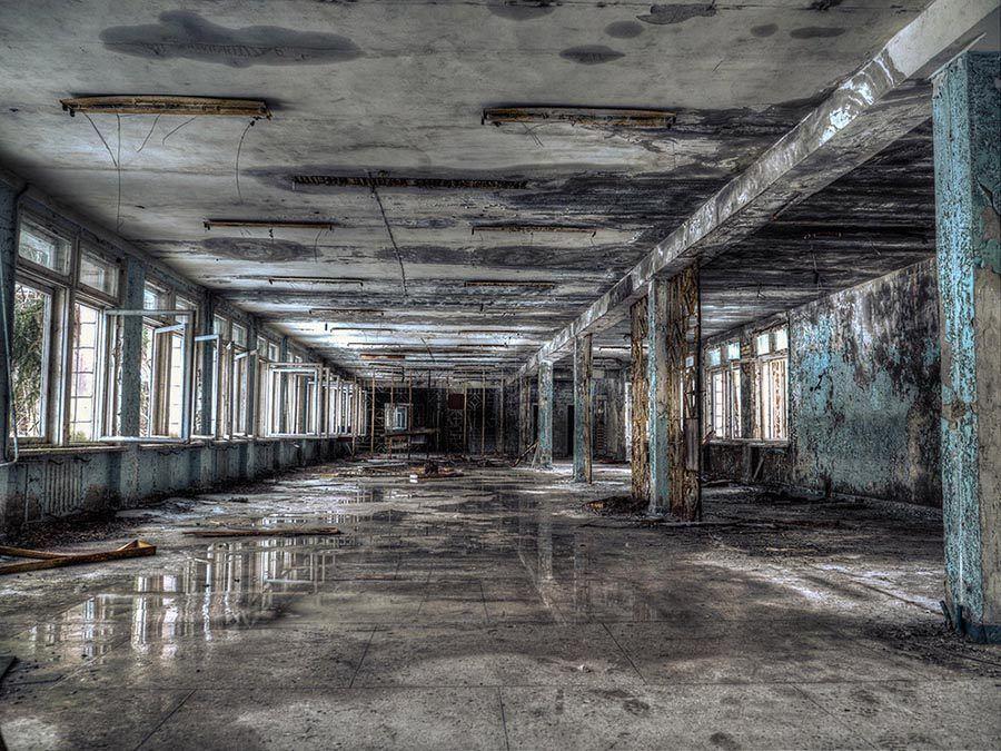 Abandoned Chernobyl Office