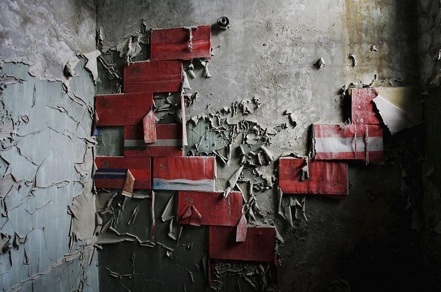 Abandoned Chernobyl Peeling Paint