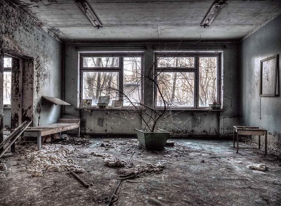 Abandoned Chernobyl Plant