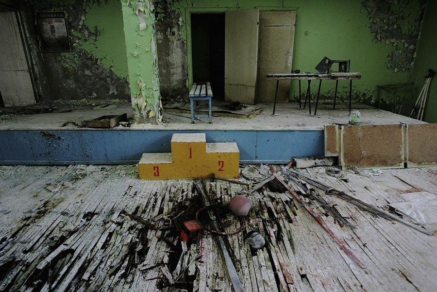 Abandoned Chernobyl Playroom