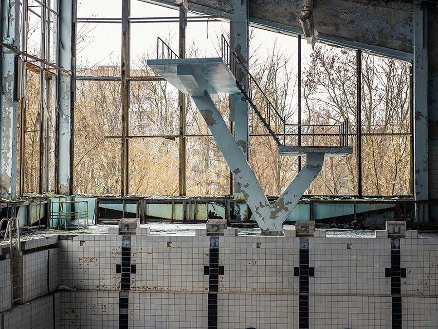Abandoned Chernobyl Pool