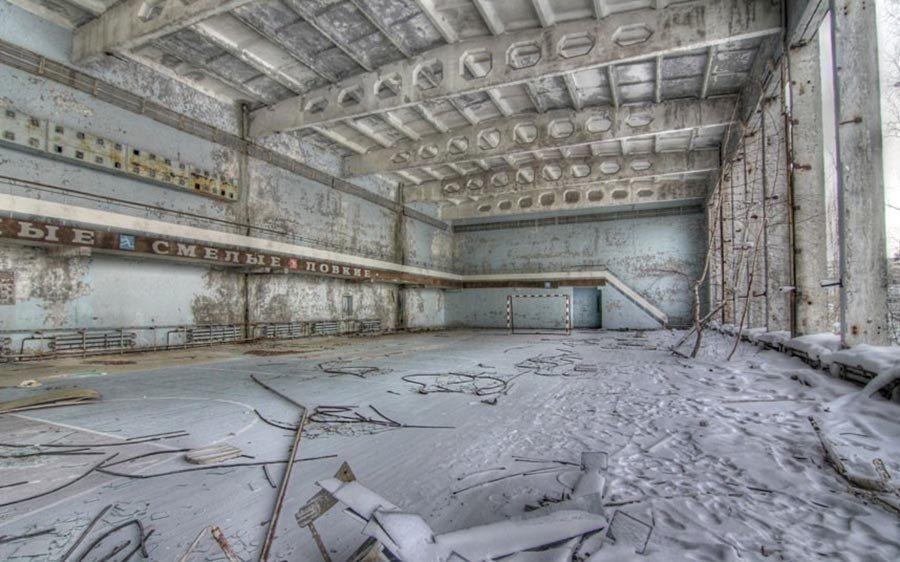 Abandoned Chernobyl Rink