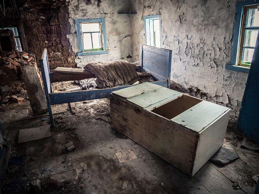 Abandoned Chernobyl Room