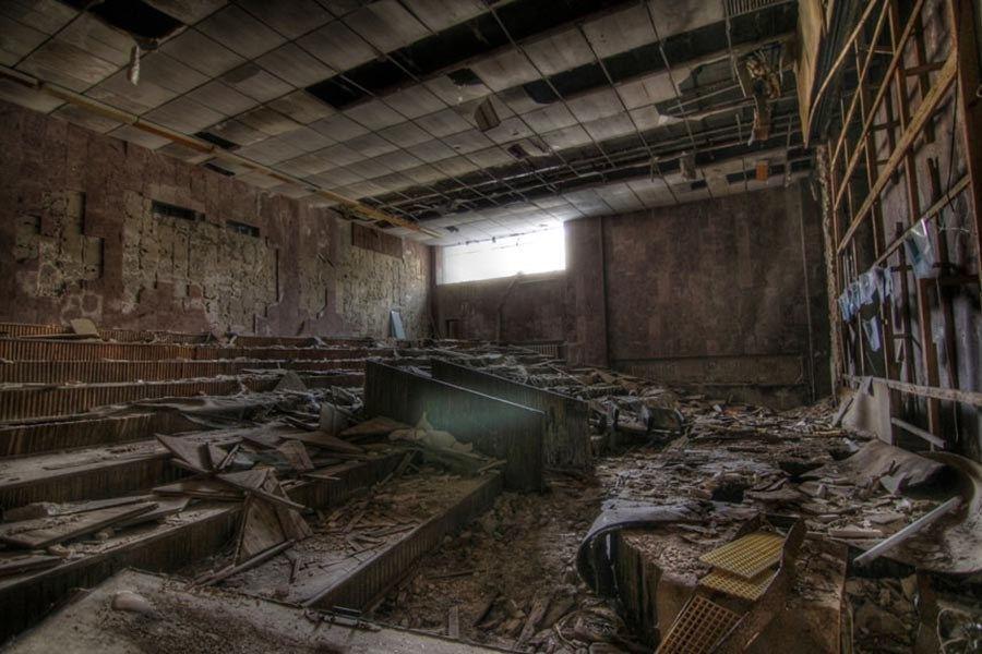 Abandoned Chernobyl School