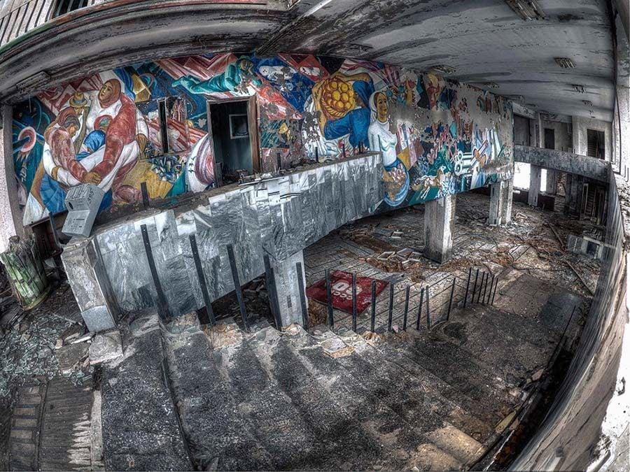 Chernobyl Stairwell