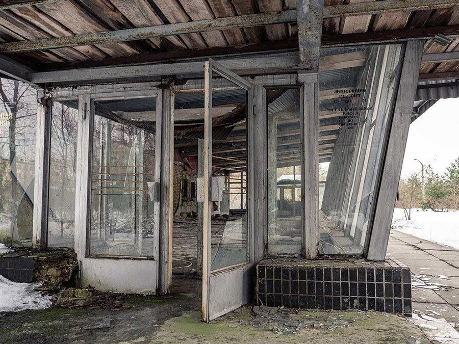 Chernobyl Storefront