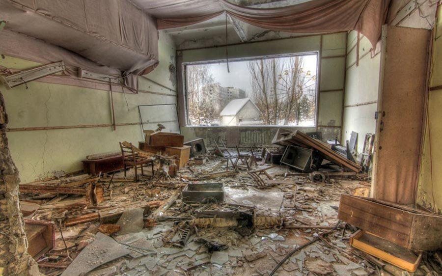 Abandoned Chernobyl Windows