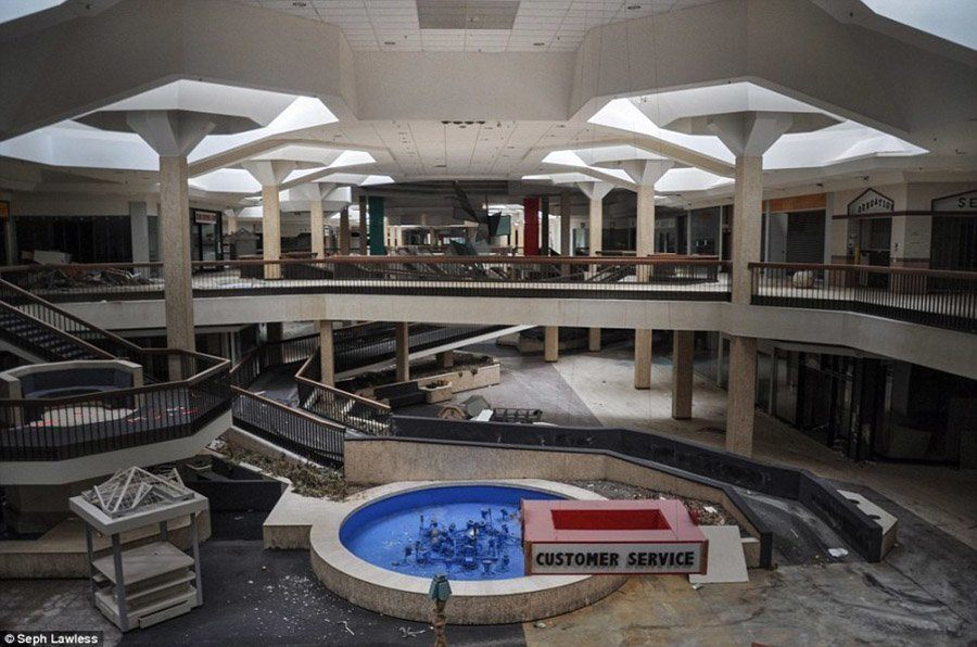 Old Crumbling Mall