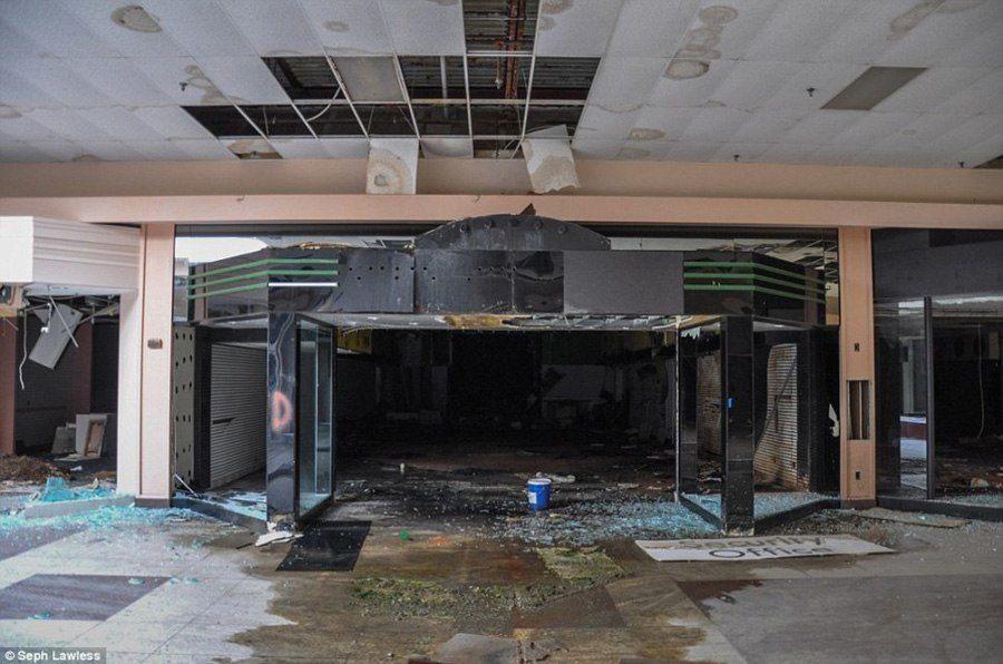 Image result for dead mall interior