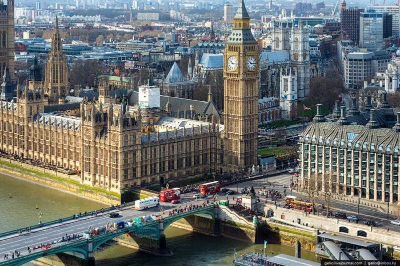 Aerial London Ben
