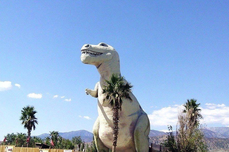 American Kitsch Cabazon Dinosaurs