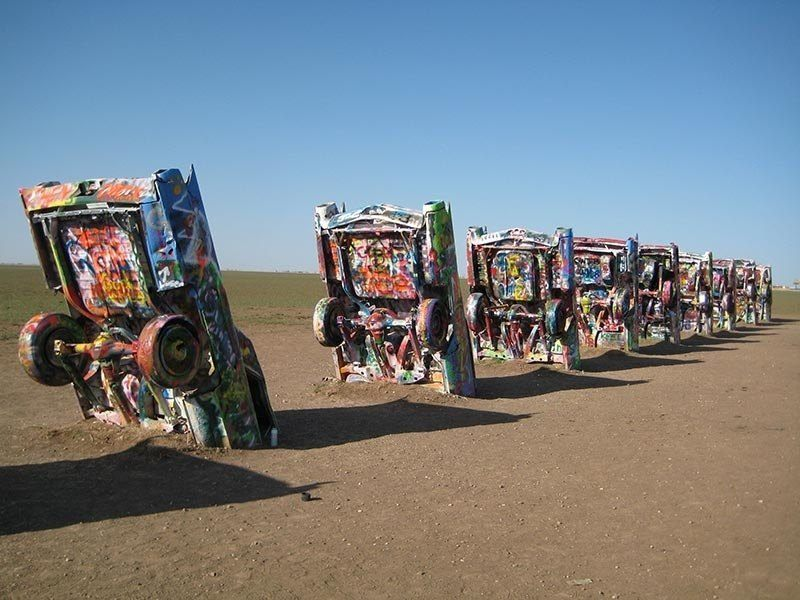 American Kitsch Cadillac Ranch