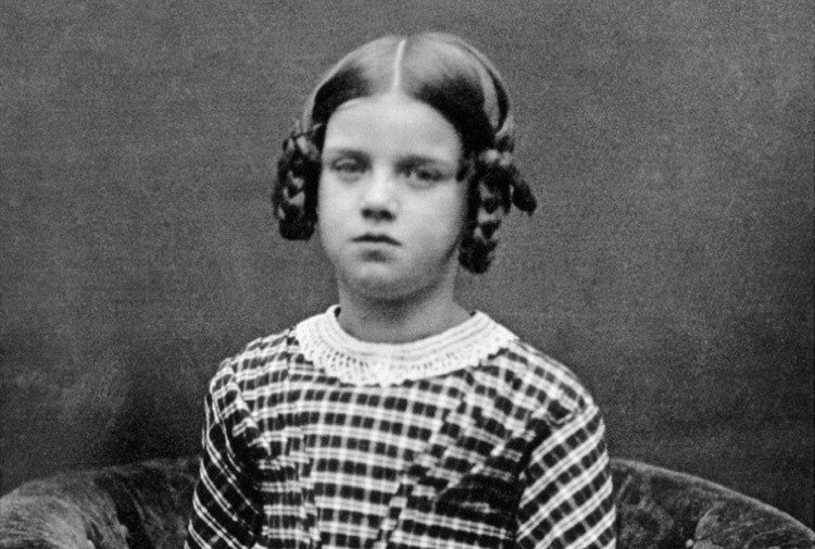 Annie Darwin Portrait