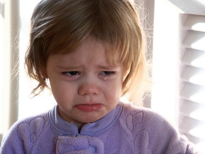 Anti-American Countries Crying Girl